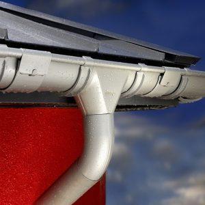 Lietaus nuvedimo sistemos. Niagara tytanium lietaus sistema.