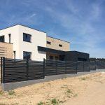 Segmentinės tvoros montavimas. Tvoros segmentas Žaliuzi 60/66