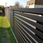 Segmentinės tvoros. Skardinės tvoros. Skardinių tvorų montavimas